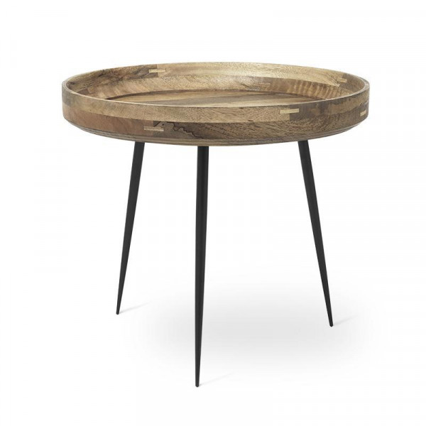 Bowl Table - Natural Mango Wood L