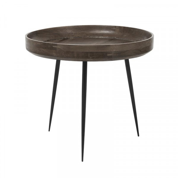 Bowl Table - Sirka Grey Mango Wood L