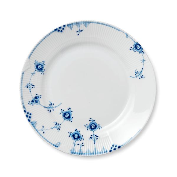 Blå Elements tallerken 28cm - 2pk