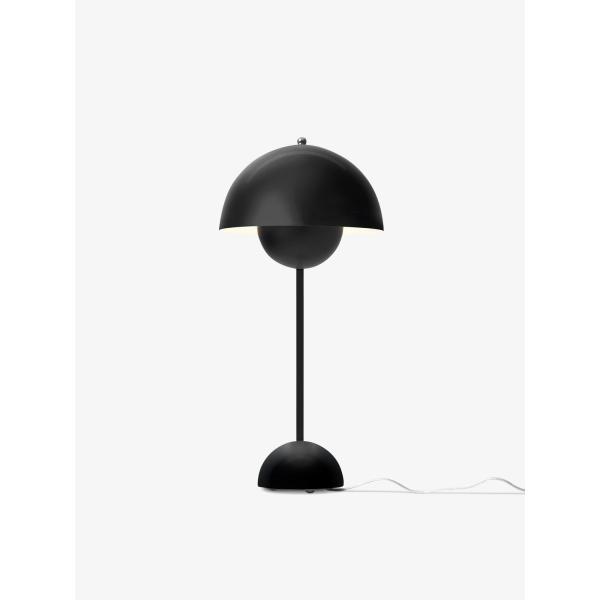 Flowerpot bordlampe VP3, sort matt