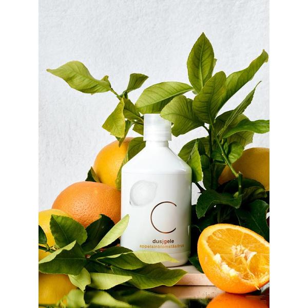 C dusjgele appelsinblomst og sitrus 500ml