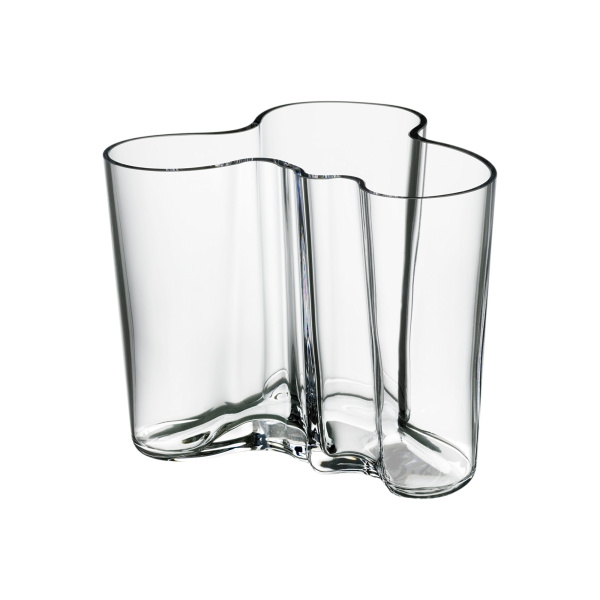 Aalto vase 120mm klar
