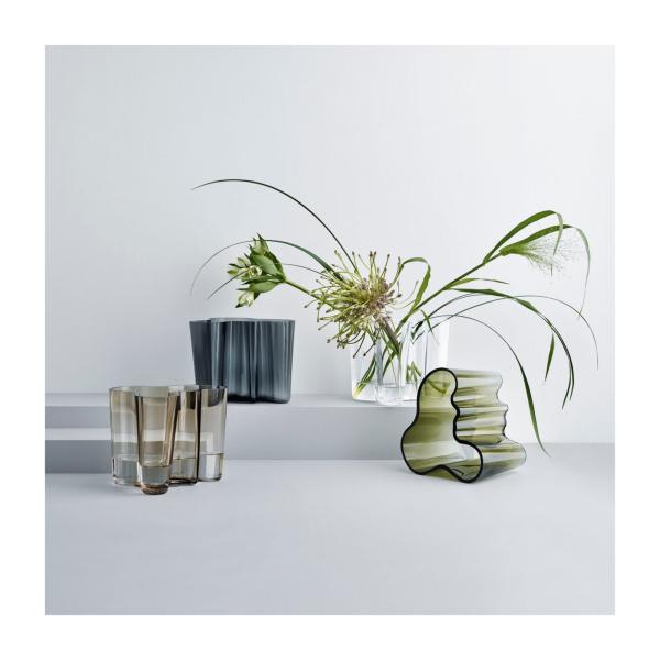 Aalto vase 160mm mosegrønn