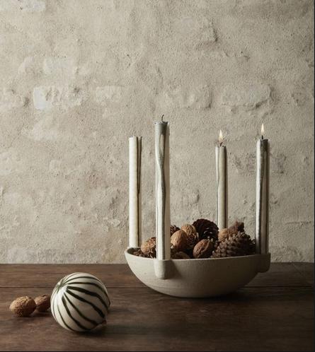 Bowl Candle Holder - Ceramic