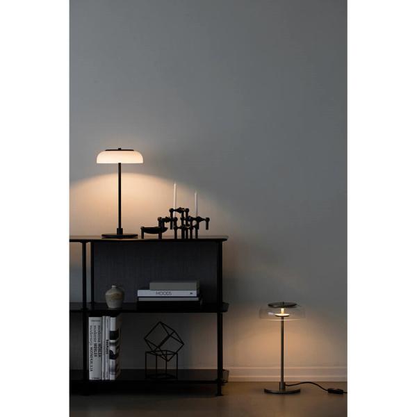 Blossi table, black/opal