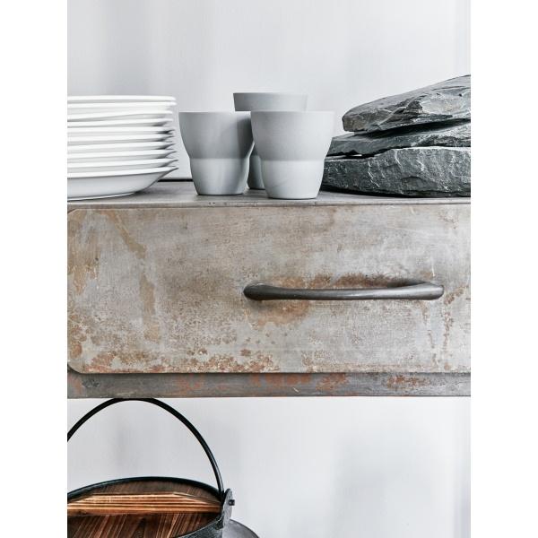 Vipp 202 Kaffekopp grå , 2pk